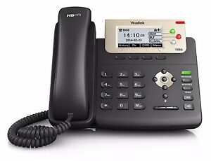 Yealink SIP-T23G: 3 Line HD VoIP PoE Phone-Power Supply Included - FREE SHIPPING