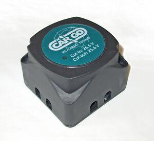 HCC 24v Dual 'Voltage Sensing' split charge relay (VSR) 24v 140amp  VSR24140HCC