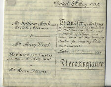 More details for vellum west hanney mortgage 1885 william monk inn keeper wantage oxfordshire