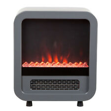 Fire Sense Skyline 1500 W Indoor Electric LED Faux Fireplace Stove Space Heater