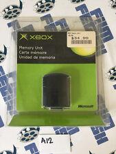 Sealed MICROSOFT XBOX Original 2001 OEM Memory Unit Card X08-25318 Brand New A12