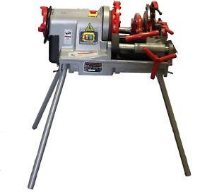 "Electric Threader Machine Pipe Tube Cutter (1/2 ""- 2"") BSPT EZ-P50C IE"