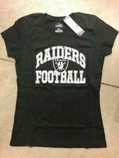 Women's Oakland Raiders NFL Franchise Fit Majestic T-shirt Size Medium