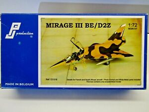 PJ Production 1:72 Scale Mirage lll BE/D2Z Resin & Metal Model Kit New # 721018