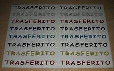 AGGIORNAMENTO FIGURINE CALCIATORI PANINI 2006/07 TRASFERITO ALBUM