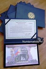 2,000 Piso Erap, Sentenaryong Salapi or Centennial Commemorative Peso Bill
