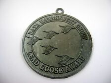 Vintage Collectible Medal: Data Management Group Lead Goose Award