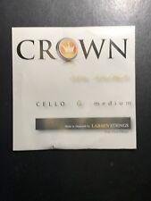 Larsen Crown Cello G String Medium 4/4 30% Less Than RRP of £18.39