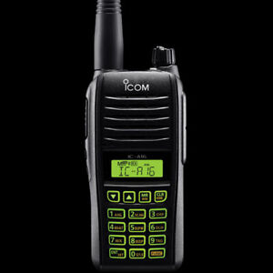 IC-A16 ICOM VHF Airband Handheld Transceiver Two Way Radio Comm
