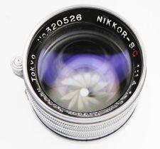 Nikkor 5cm f1.4 Tokyo Leica SM  #320526