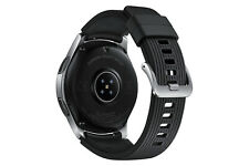 Samsung Galaxy Watch SM-R800 46mm Silver Case Classic Buckle Onyx Black - Bluetooth