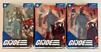 "GI Joe Classified Series 6"" ZARTAN #23 + 2 COBRA INFANTRY #24 IN HAND LOT 2021"