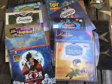 Large Lot Disney Laserdiscs - Lion King Toy Story Snow White, etc 10x