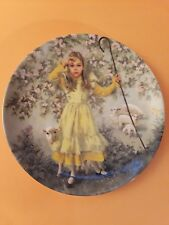 """""""Little Bo Peep"""" by John McClelland (Mother Goose) 8.5"""" Collector Plate (1983)"""