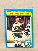 1979-80 Topps # 175 Gordie Howe Hartford Whalers