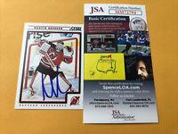 Martin Brodeur Signed New Jersey Devils Card COA