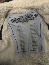 Chainsmokers tour jacket music denim