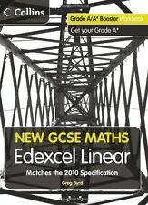 New GCSE Maths - Grade A/A* Booster Workbook: Edexcel Linear,Greg Byrd