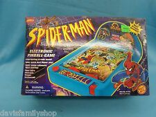 Spider-Man Animated Series Electronic Pinball Game Loose Complete Toy Biz 1995