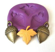 Glands feuilles Moule silicone 25 mm-gâteau décorer fimo Clay Pâte Glaçage