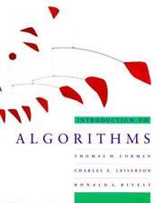 Introduction To Algorithms  - by Cormen