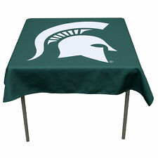 """Michigan State University Spartans 48"""" Table Cloth Overlay"""