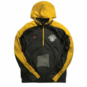 Nike Gyakusou x Undercover ½ Zip Hooded Jacket Running Yellow Size XS CD7107-274