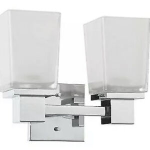 Nuvo Lighting - Parker - Two Light Bath Vanity  Polished Chrome Finish with
