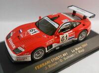 Ixo 1/43 Scale - LMM081 FERRARI 575 GTC #61 LE MANS 2004