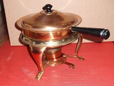 WARMING SERVING COPPER STAINLESS  BUFFET CATERING CHAFERS  JAPAN DOUBLE BOILER