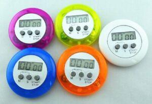 Digital Kitchen Magnetic Timer Belt Pocket Clip LCD Chef Restaurant Egg Counter