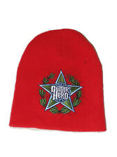 Retro Red Guitar Hero Winter Hat Beanie Osfm Men