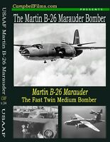 Martin B-26 Marauder Bomber DVD 4 Films WW2 Army Air Forces