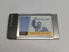 Proxim Orinoco Gold WLAN Adapter PCMCIA PC Card 802.11b 16-Bit
