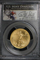 2013 $25 1/2 oz AMERICAN GOLD EAGLE - DIEHL SIGNATURE SERIES ** PCGS MS 70
