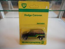 "Matchbox Dodge Caravan ""BP"" in Black on Blister"