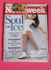 MICHELLE KWAN OLYMPIC SKATER NEWSWEEK MAGAZINE FEB 1998
