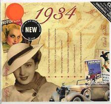 83rd ANNIVERSARIO O COMPLEANNO REGALO ~ Hit CD musicale da 1934 e biglietti d'auguri
