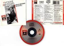 "YVONNE PRINTEMPS ""Airs Et Mélodies"" (CD) 1988"