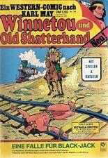 Comic - Western - Winnetou und Old Shatterhand  Nr. 14 - Condor Verlag deutsch