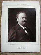 Charles LECOQ cliché photoglyptie de Pierre PETIT Galerie Contemporaine 1880