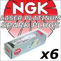 6 NGK Platinum Spark Plugs JAGUAR S-TYPE 2.5 3.0 V6 98-