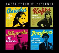 Poeci Polskiej Piosenki - Osiecka, Kofta, Mlynarski, Przybora (CD 8 disc) NEW