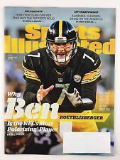 Sports Illustrated Magazine 1/9/2017 Ben Roethlisberger NFL Playoffs CFP Rematch