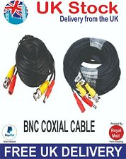BNC POWER CCTV CAMERA DVR CABLE VARIOUS SIZES AVAILABLE