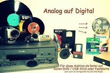 10 x VHS , Video8, Hi8, MiniDV als Daten-DVD digitalisieren