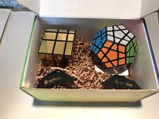 April Edition PuzzelCrate: ShengShou Mirror magic Cube, And Megaminx
