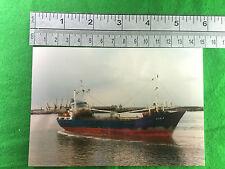 Ilda of Tallin merchant ship vessel  - original 1995 real photo