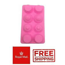 8 Hole Mini Cupcakes Silicone Cake Chocolate Mould Mold Decoration Tea Party Cup