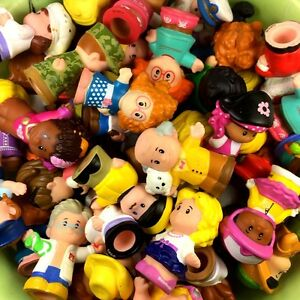 Lot 10pcs Fisher Price Little People Figure Baby Boy Girl Toy random no repeat